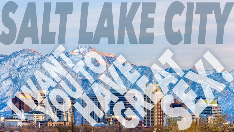 Salt Lake City: Here I come…
